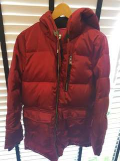 Bossini Brand New Hooded Down Jacket