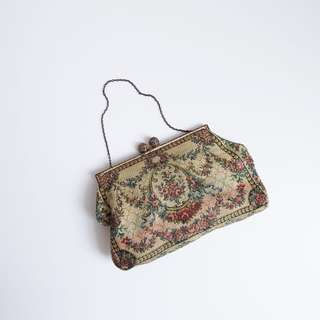 Ruddy Floral Bag | french vintage | tapestry floral purse