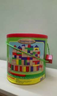 Imaginarium 100pcs Blocks Bucket