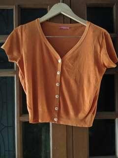 Bolero Knit Orange