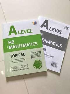 H2 Mathematics topical tys
