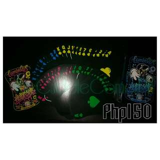 CLEARANCE SALE: LUMINOUS POKER CARDS