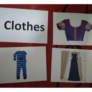 Clothes - BN Flashcards