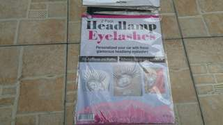 Headlamp Eyelashes best for Halloween