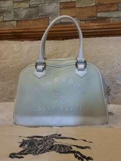 Authentic Burberry Blue Label canvas handbag with Dustbag