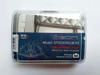 Ogon Design Stockholm v2 RFID safe aluminium wallet 鋁製防盜銀包