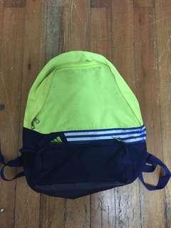 66600fbc64 Adidas neon green backpack