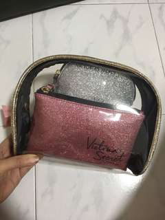 Victoria Secret Trio Pouch