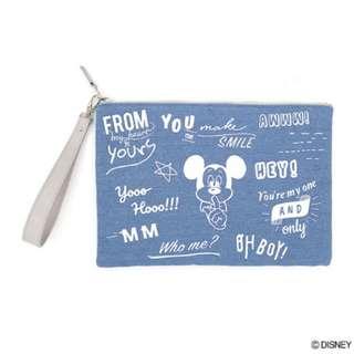 日本直送-日本品牌DISNEY 米奇老鼠系列多用途手袋 波猫ねこだるま ミニバッグ