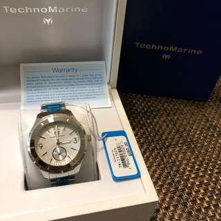 TECHNOMARINE MoonSun Silver Dial Men's Watch