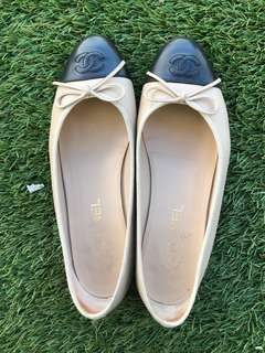 Chanel ballerina size 39 full set with box dust bags and receipt