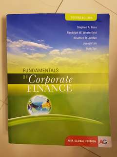 FIN2004 2nd Edition Fundamentals of Corporate Finance