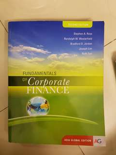 FIN2004 2nd ed. Fundamentals of Corporate Finance