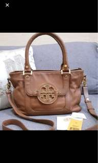Tory Burch amanda mini satchel royal tan