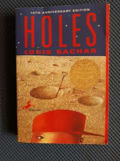 Holes by Louis Sachar 10th-anniversary edition