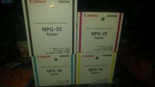 Canon NPG-35 Toner bundle