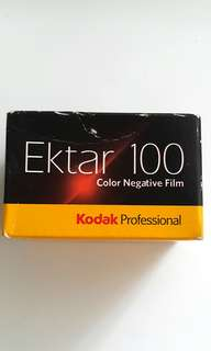 Expired 135 Film Ektar 100