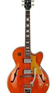kredit DP 0% Cort YORKTOWN-BV-TO Hollow body Jazz electrik guitar