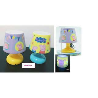 *FREE DELIVERY to WM only / Ready stock* Kids peppa pig bed room lamp lighting each as shown in design/color. Free delivery is applied for this item.