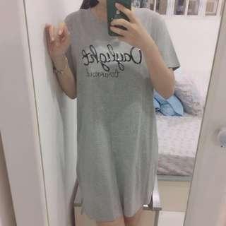 Tshirt Grey Dress
