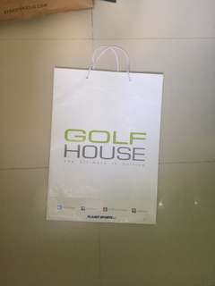 Paperbag Golf House Large