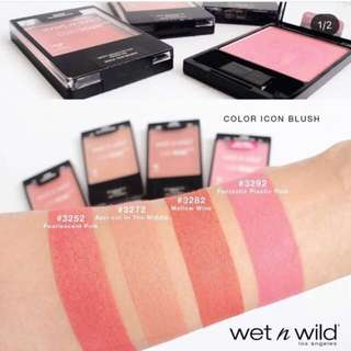 🌟INSTOCK🌟Wet N Wild Color Icon Blush