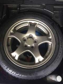 Subaru 5x100 16 inch wrx spare tyre