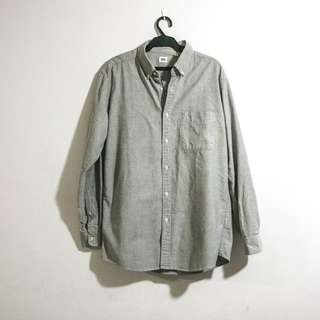 Uniqlo Button Down Longsleeves Polo for Men