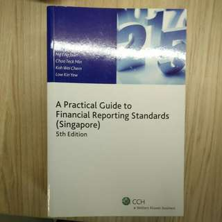 A practical guide to financial reporting standards (Singapore)