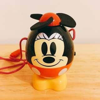 絕版中古米妮手提風扇 Vintage Minnie Mouse handheld fan