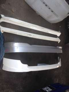 skirting honda jazz fit gd