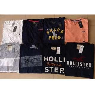 Hollister A&F Polo Tee