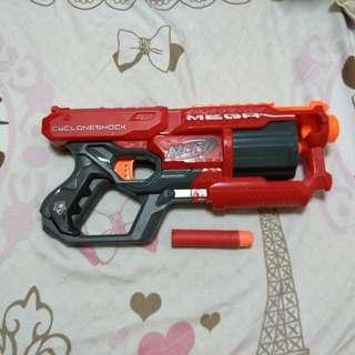 NERF Mega Cycloneshock gun