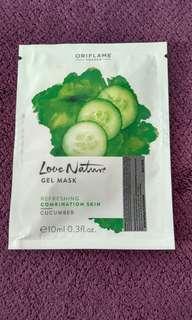 Love Nature gel mask