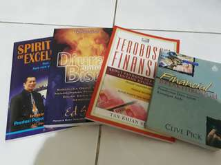 (BUNDLE) Buku Rohani tentang Bisnis dan Financial Breakthrough