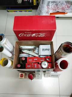 Assorted items in box