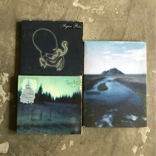Sigur Ros CDs and DVDs