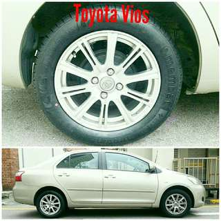 Tyre 185/60 R15 Membat on Toyota Vios 🐕 Super Offer 🙋‍♂️