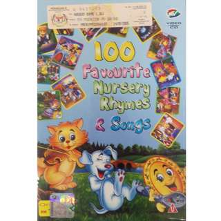 100 English Favourite Nursery Rhymes Songs VCD