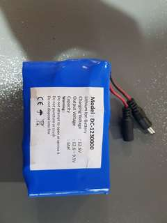 12V Lithium Ion Battery 30000mAH