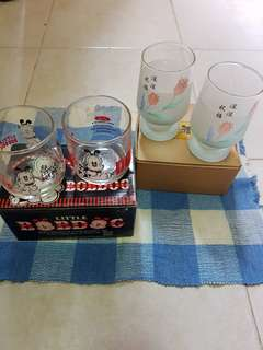 Cups both set for $2