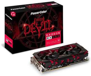 Powercolor Red Devil rx580 8gb