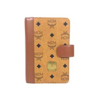 Authentic MCM Notebook/Diary Brown (MCM1726)