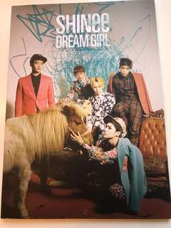 SHINEE dream girl notebook