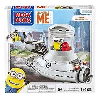 NEW Mega Bloks Despicable Me Minion Mobile Toy lego 壞蛋獎門人 積木