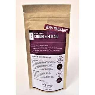 Cough & Flu Aid - 60 capsules