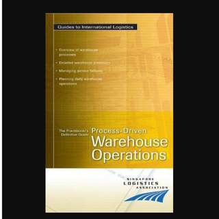 Practitioner Dfe Gde: Process-driven Warehouse Operations - BK2011