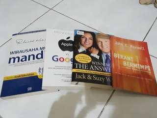 (Bundle) Buku Leadership and Business