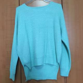 Mint Green Knitted Pullover