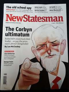 New Statesman Magazine (27 April - 3 May 2018)